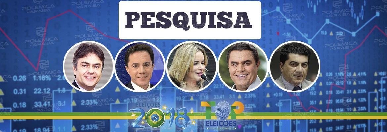 EXCLUSIVO: Acaba com suspense e divulga números da pesquisa Real Time Big Data para senador da Paraíba