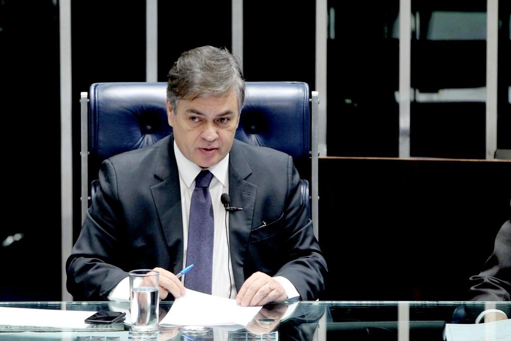 Cássio assume, interinamente, presidência do Senado a partir de hoje