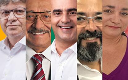 Candidatos ao Governo do Estado participam de debate nesta segunda-feira