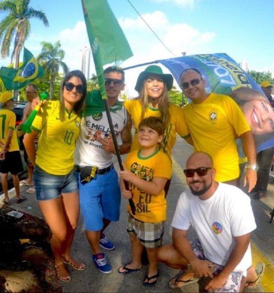 Ricardo vai à justiça para proibir Pâmela de levar o filho para manifestações de Bolsonaro