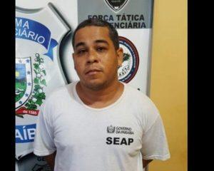 FORA DE CIRCULAÇÃO: Polícias Federal e Militar prendem líder da OKAIDA que estava foragido do PB1