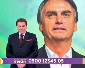 Com Bolsonaro no Teleton, Silvio Santos manda indireta para ex-Presidentes – VEJA VÍDEO