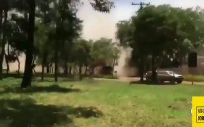 VEJA VÍDEO – Record exibe com exclusividade imagens do momento em que barragem se rompe em Brumadinho