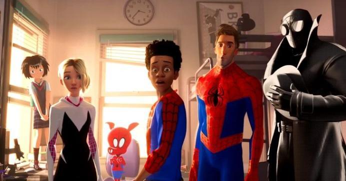 Homem-Aranha no Aranhaverso é a maior estreia da semana