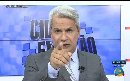 PRONUNCIAMENTO: Sikera Jr quebra silêncio e revela motivo de sua saída da TV Arapuan; VEJA VÍDEO