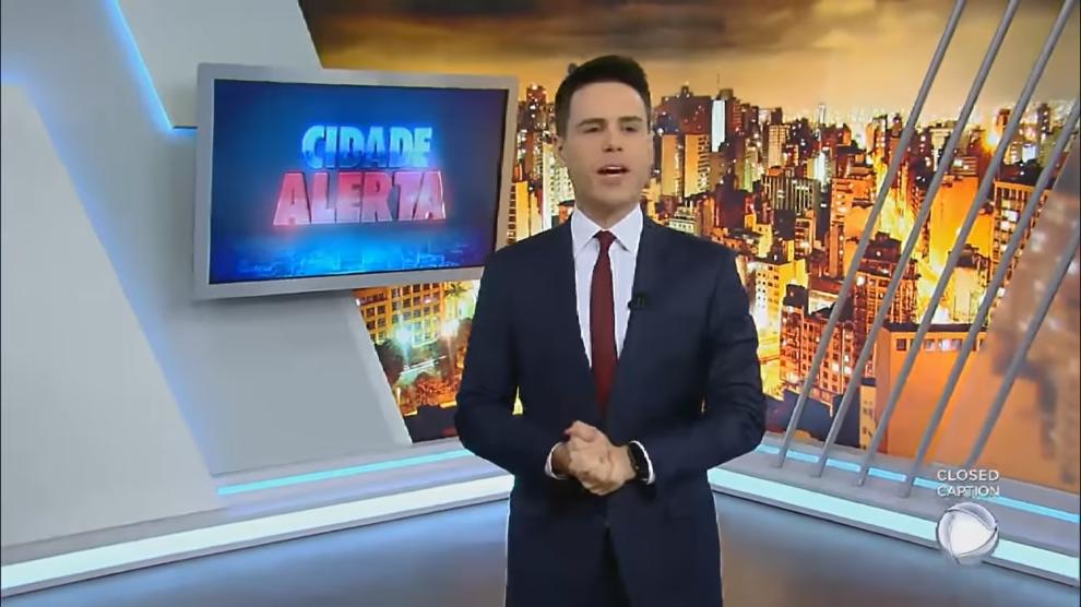 Luiz Bacci deixa comando do Cidade Alerta e tem novo substituto anunciado