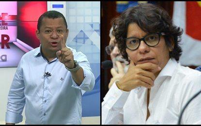 ÁUDIO: Nilvan Ferreira critica Estela Bezerra por desdenhar de jornalista durante entrevista