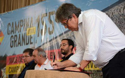155 anos de Campina Grande: João Azevêdo anuncia Centro de Convenções e novas obras que somam mais de R$ 135 milhões