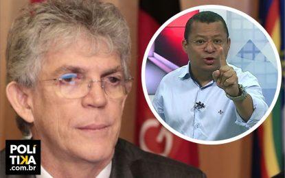 """ÁUDIO: Nilvan desafia Ricardo Coutinho para entrevista – """"O senhor não fuja não, eu quero olhar no seu olho!"""""""