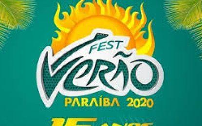 Programação completa do Fest Verão Paraíba 2020 é divulgada