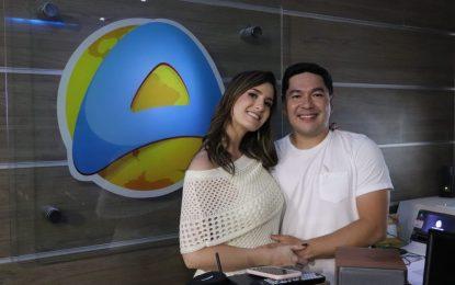 Patrícia Rocha revela data de estreia com Bruno Sakaue na TV Arapuan