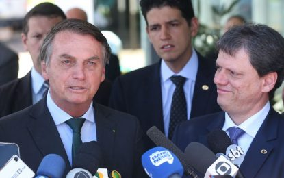 Bolsonaro diz que preço dos combustíveis está alto para o consumidor: 'na refinaria o preço está lá embaixo'