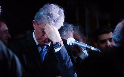 Com seus 'parceiros' presos ou indiciados na Operação Calvário, Ricardo Coutinho é o pré-candidato a prefeito de JP mais rejeitado