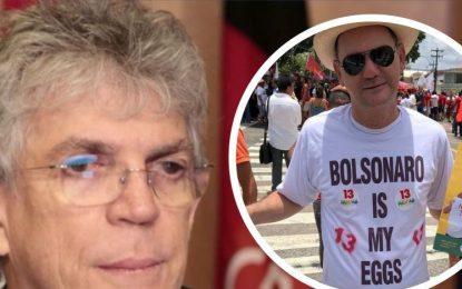 Propinoduto girassol é a prova de que Ricardo Coutinho rouba desde a prefeitura de João Pessoa