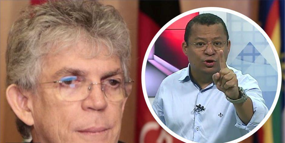 """ÁUDIO: Nilvan Ferreira rebate ex-presidiário Ricardo Coutinho por live sobre coronavírus – """"Você perdeu a sensatez e agora tenho clareza que você é mesmo um psicopata"""""""