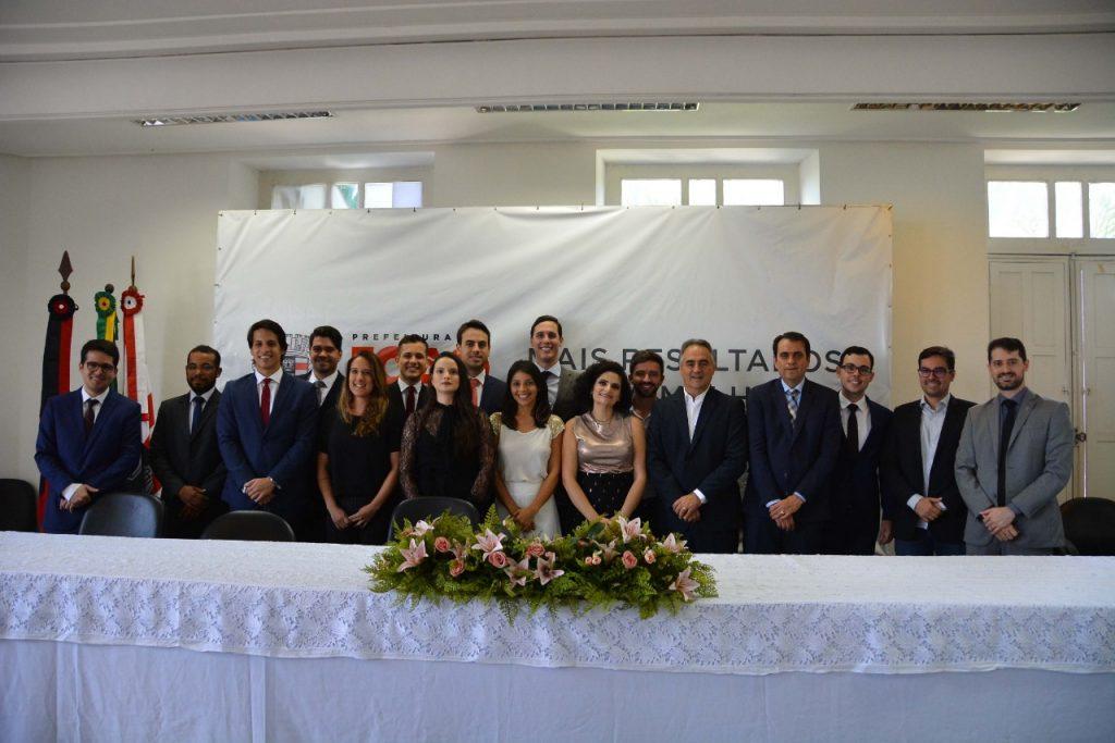 Luciano Cartaxo dá posse a procuradores municipais aprovados em concurso