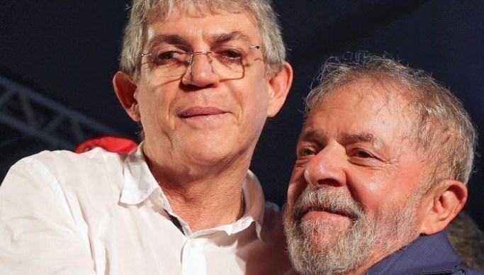 Lula ordena que PT da Paraíba se afaste imediatamente de Ricardo Coutinho