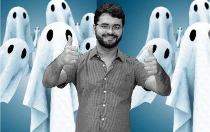 Para evitar pagar os fantasmas de Berg Lima, Kita só pagará abril aos comissionados e contratados que apresentarem a folha de ponto