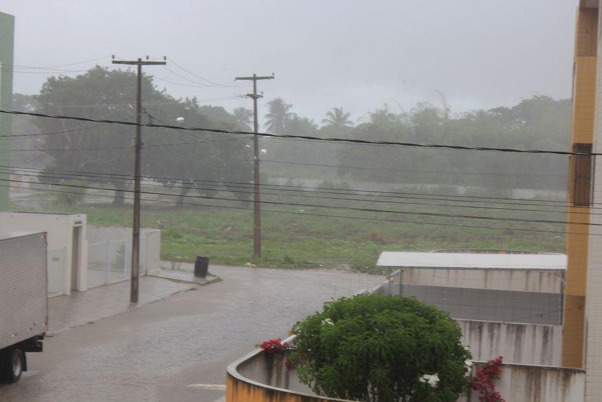 Inmet alerta para perigo potencial de chuvas intensas em 85 cidades da Paraíba
