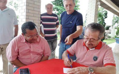 Senador José Maranhão confirma filiação de Nilvan Ferreira ao MDB
