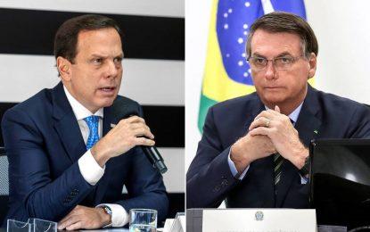 """""""Fanáticos negam doença e são traidores do povo"""", diz Doria sobre isolamento"""