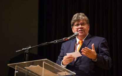 Um 2020 para João Azevedo não botar defeito