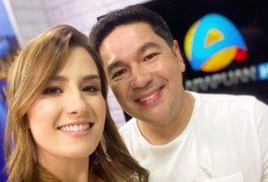 Patrícia Rocha e Bruno Sakaue deixam TV Arapuan