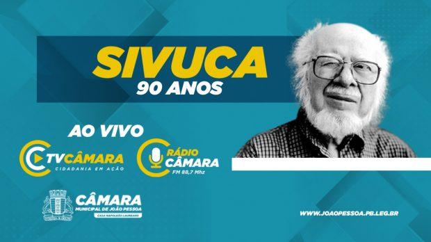 TV e Rádio Câmara JP transmitem Live Solidária em homenagem aos 90 anos de Sivuca