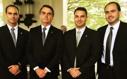 Bolsonaro já teme que seus filhos sejam presos pelo STF