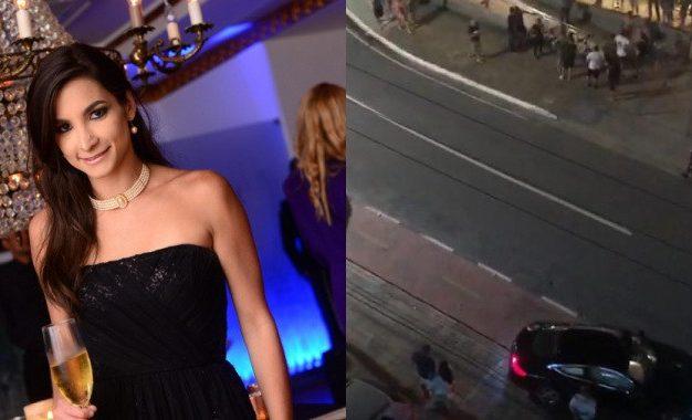 Blogueira Celeste Maia atropela ciclista no MAG Shopping e tenta fugir – VEJA VÍDEO