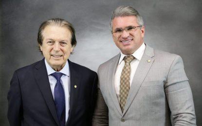 """Julian Lemos, vice-presidente nacional do PSL, defende que Bivar """"seria o sucessor ideal"""" de Maia"""