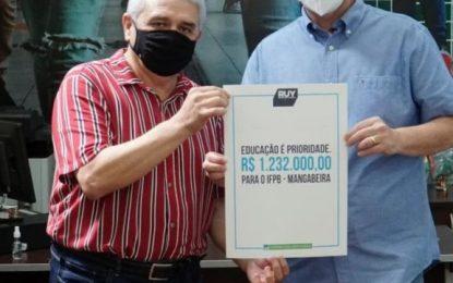 Ruy destina mais recursos para obras do IFPB / CAIC Mangabeira