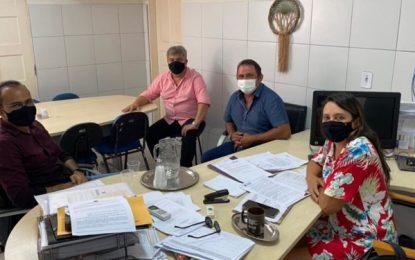 Prefeito de São José de Espinharas participa de audiências com gestão estadual na Capital em busca de parcerias para o município