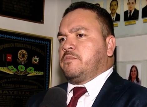 Vereador Adriano Dentadura é o novo secretário de Saúde de Bayeux