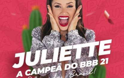Juliette bate próprio recorde e alcança 1 milhão de curtidas em foto em apenas 3 minutos