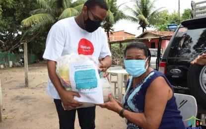 Cicovi faz doaçao de 650 cestas basicas para familias carentes
