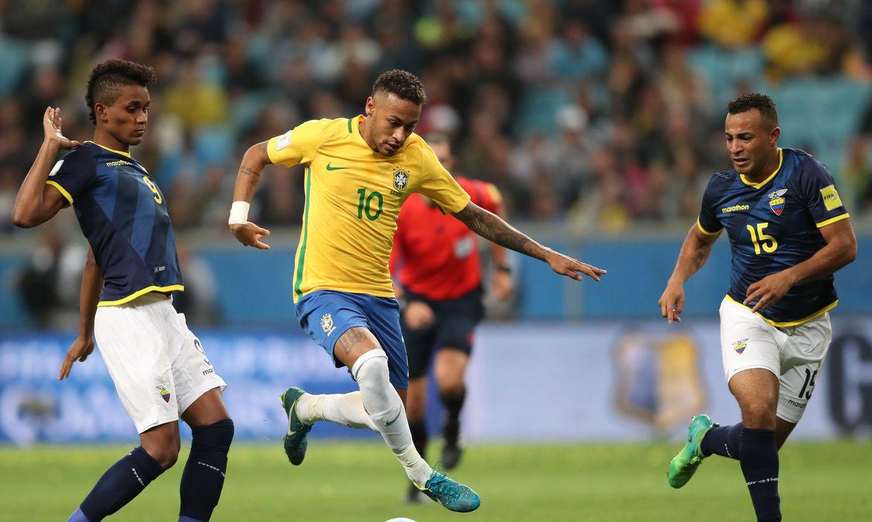 Eliminatórias da Copa do mundo: seleção brasileira encara Equador em Porto Alegre hoje
