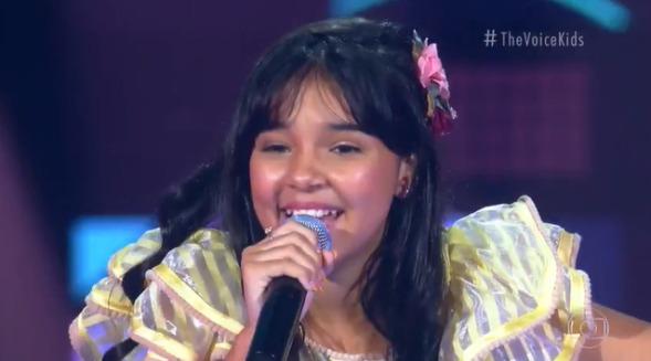 Pessoense de 12 anos é aprovada em fase de audições às cegas do The Voice Kids 2021