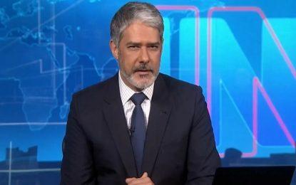 Globo formaliza oferta milionária para William Bonner não deixar Jornal Nacional; âncora fala em aposentadoria