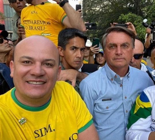 Cabo Gilberto quer ser o federal de Bolsonaro