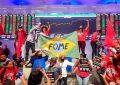 Movimentos sociais ocupam a Bolsa de Valores de São Paulo num protesto contra a fome e o desemprego