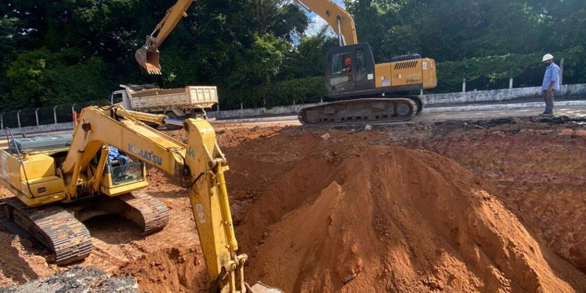 Prefeitura intensifica esforços para recuperação de trecho da Avenida Dom Pedro II