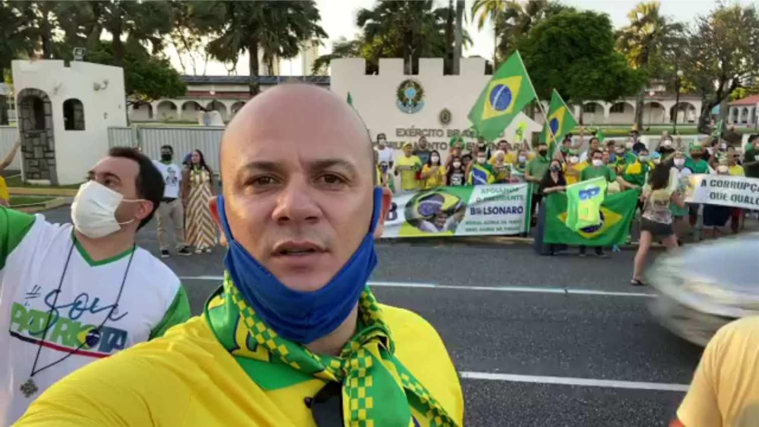 Antivacina, deputado estadual Cabo Gilberto poderá ser barrado nas sessões presenciais da ALPB
