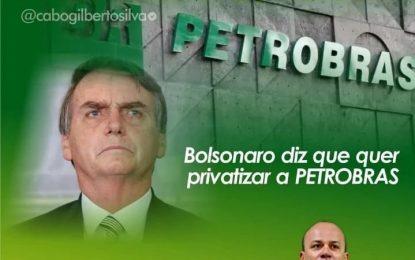 'Patriota' Cabo Gilberto é a favor da privatização da Petrobrás